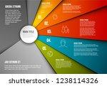 vector infographic diagram...   Shutterstock .eps vector #1238114326
