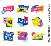 sale promotion advertisements... | Shutterstock .eps vector #1238119939