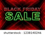 black friday sale card | Shutterstock . vector #1238140246