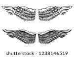 vintage style illustration of... | Shutterstock .eps vector #1238146519
