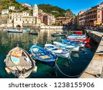 famous old town of corniglia  ... | Shutterstock . vector #1238155906