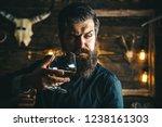 barman. pub retro vintage... | Shutterstock . vector #1238161303