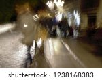 tourists  ghostly human figures ... | Shutterstock . vector #1238168383