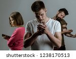 actual social problem. stop... | Shutterstock . vector #1238170513