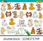 cartoon illustration of find... | Shutterstock .eps vector #1238171749
