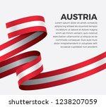 austria flag for decorative... | Shutterstock .eps vector #1238207059