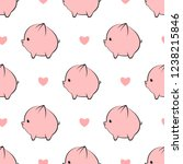 vector seamless pattern with...   Shutterstock .eps vector #1238215846