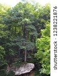 landscape on schienssent mpel... | Shutterstock . vector #1238221876