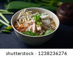 bakso  meatball soup with... | Shutterstock . vector #1238236276