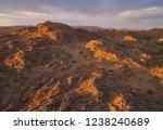 aerial photo of sunrise over... | Shutterstock . vector #1238240689