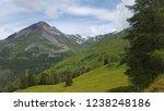 mountains summer landscape | Shutterstock . vector #1238248186