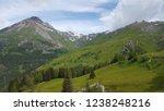 mountains summer landscape | Shutterstock . vector #1238248216