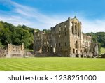 Rievaulx Abbey Ruins In Nort...