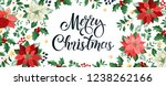 merry christmas design... | Shutterstock .eps vector #1238262166