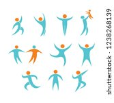 symbol sports  asia games | Shutterstock . vector #1238268139