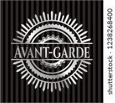 avant garde silver shiny emblem   Shutterstock .eps vector #1238268400