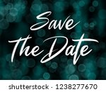 save the date handwriting... | Shutterstock . vector #1238277670