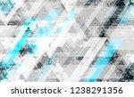 seamless urban geometric grunge ... | Shutterstock .eps vector #1238291356