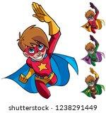 full length cartoon...   Shutterstock .eps vector #1238291449