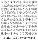 line icons for ecology  energy... | Shutterstock .eps vector #1238321350