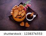 bowl full of homemade...   Shutterstock . vector #1238376553