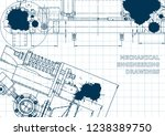 computer aided design systems.... | Shutterstock .eps vector #1238389750