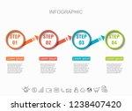 presentation creative concept... | Shutterstock .eps vector #1238407420