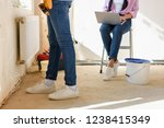 cropped image of man working...   Shutterstock . vector #1238415349