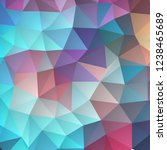 colored triangles. polygonal... | Shutterstock .eps vector #1238465689