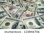 background of money for business | Shutterstock . vector #123846706