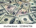 background of money for business | Shutterstock . vector #123846706