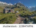 franz senn hutte  2 147 m asl ... | Shutterstock . vector #1238476996