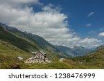 franz senn hutte  2 147 m asl ... | Shutterstock . vector #1238476999