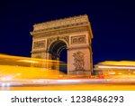 arc de triomphe  triumphal arch ... | Shutterstock . vector #1238486293
