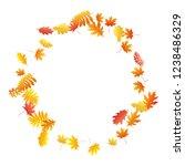 oak  maple  wild ash rowan... | Shutterstock .eps vector #1238486329
