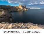 view of the rogue bay and koba... | Shutterstock . vector #1238493523