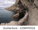 golitsyn trail and chaliapin's... | Shutterstock . vector #1238493526