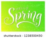 modern calligraphy lettering of ... | Shutterstock .eps vector #1238500450