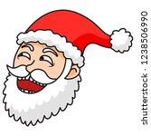 lol happy santa meme face on...   Shutterstock .eps vector #1238506990