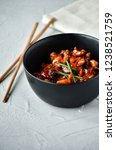 spicy chicken in sweet and sour ...   Shutterstock . vector #1238521759