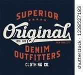 original denim outfitters  ...   Shutterstock .eps vector #1238527183