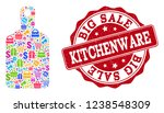 trading collage of kitchenware... | Shutterstock .eps vector #1238548309