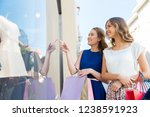 sale  consumerism and people... | Shutterstock . vector #1238591923