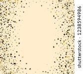 stars confetti vertical border. ... | Shutterstock .eps vector #1238594986