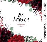 greeting  invite  invitation... | Shutterstock .eps vector #1238623300