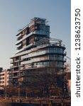 glass building of cap mail ... | Shutterstock . vector #1238623750