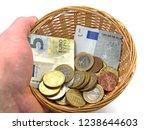 Donation Basket  Money...