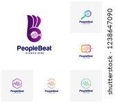 set of community logo template...   Shutterstock .eps vector #1238647090