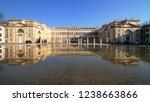 royal villa in monza village in ... | Shutterstock . vector #1238663866