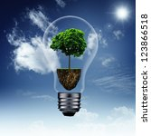 energy savings and eco... | Shutterstock . vector #123866518